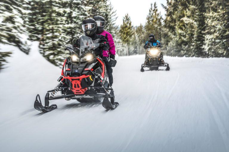 Snowmobile in New Hampshire