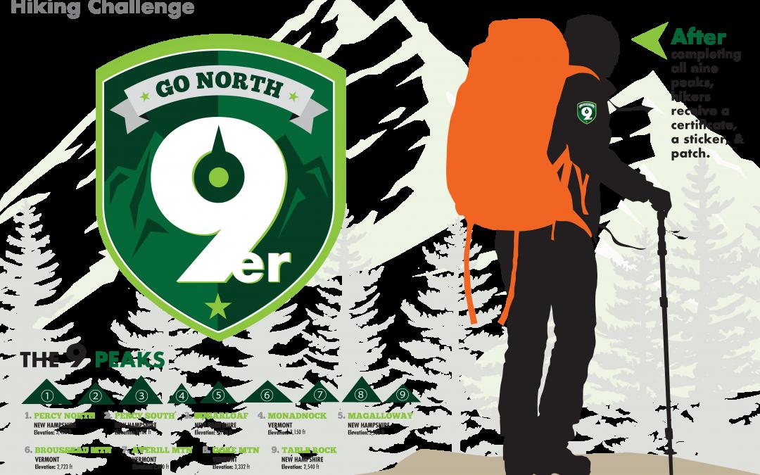 Go North 9er Hiking Challenge