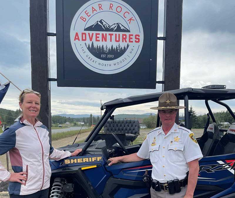 Bear Rock Adventures and Coos Sheriff Dept Partnership